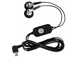 Motorola Headset Stereo HS200 EMU w/ Send-End Black MOTOKRZR K1; MOTORIZ