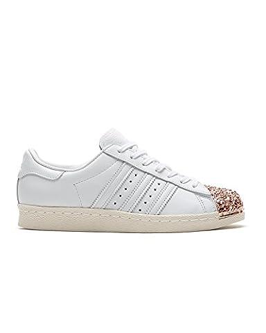 Adidas Sneaker Women SUPERSTAR 80S 3D MT W BB2034 Weiß, Schuhgröße:39 1/3