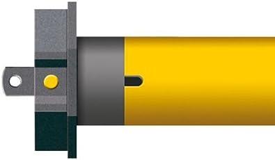 Schellenberg Smart Home Funk-Rohrmotor PREMIUM 20 Nm   60 mm MAXI, Rolläden bis max. 8,5m²   steuerbar per Fernbedienung & Zeitschaltuhr   App-Steuerung im Smart Home   Ready for Smart Friends