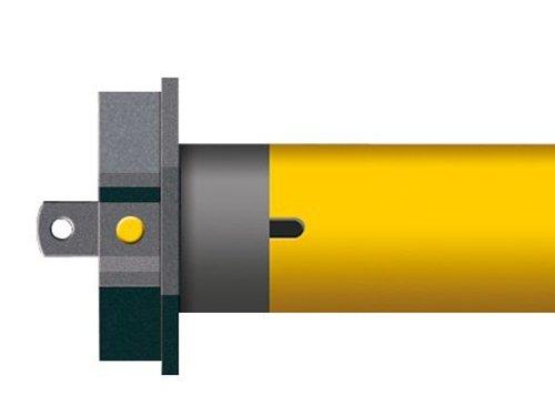 Schellenberg Smart Home Funk-Rohrmotor PREMIUM 40 Nm | 60 mm MAXI, Rolläden bis max. 15m² | steuerbar per Fernbedienung & Zeitschaltuhr | App-Steuerung im Smart Home | Ready for Smart Friends
