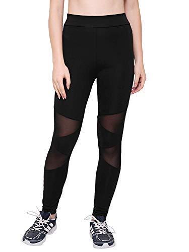 AREO Yoga Pants, Women's Power Flex Yoga Pants Tummy Control...