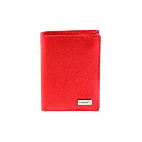 Best-seller Portefeuille femme homme Cuir rouge N982