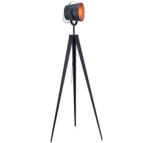 Versanora Stativ LED StandardStehlampe Rotgold Modern Lighting VN-L00021-EU - Standard Stehlampe Deckenfluter Ist