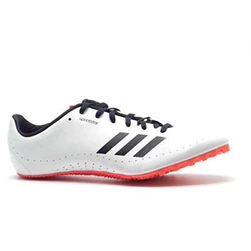 adidas Sprintstar, Zapatillas de Atletismo para Hombre, Multicolor (FTWR White/Core Black/Shock Red...