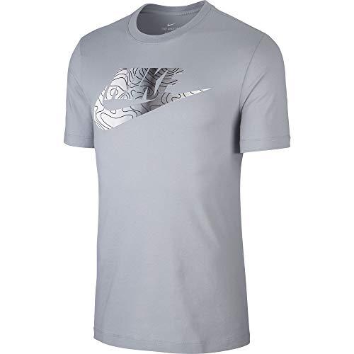 Nike M NSW IR AM 720 1, T-Shirt Uomo, Wolf Thunder Grey, XL