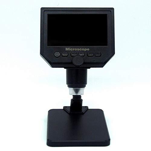 """G600 600X HD 3.6MP 8 LED portatile LCD Digital Microscopio 4.3\"""" elettronico HD"""