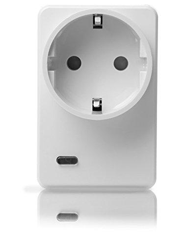 LUPUSEC Funksteckdose mit Stromzähler und ZigBee Repeater, automatisiertes Ein-/Ausschalten von...