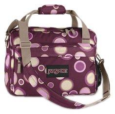 JanSport Superbreak Gepäck Tote, Violett Wildleder Bubbles (Bubbles Tote Tasche)