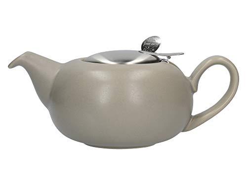 London Pottery Petite théière avec infuseur pour thé en Vrac en grès Mat 2 Tasses 500 ML