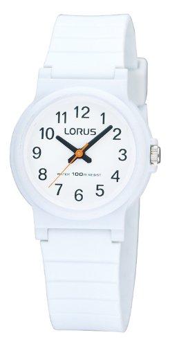 Lorus Unisex Watch Analogue Rubber Quartz RRX11DX9 Kids