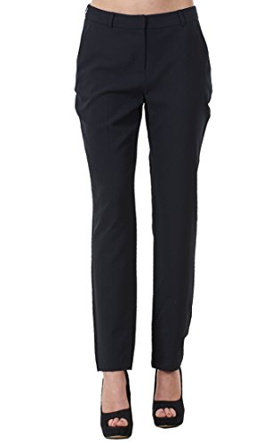 Ladies Comfortable Work Straight Leg Office Formal Smart Womens Trousers