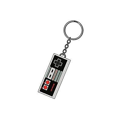 Porte-clés caoutchouc Manette Nes 7 cm Nintendo