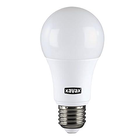 Xavax High Line LED-Lampe, 9,2W (ersetzt 60W), 806lm, Glühlampenform, Warmweiß, E27