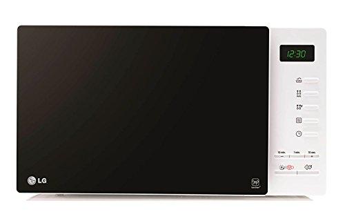LG MH6354JAS - Horno microondas con grill, color: negro y blanco (potencia:...