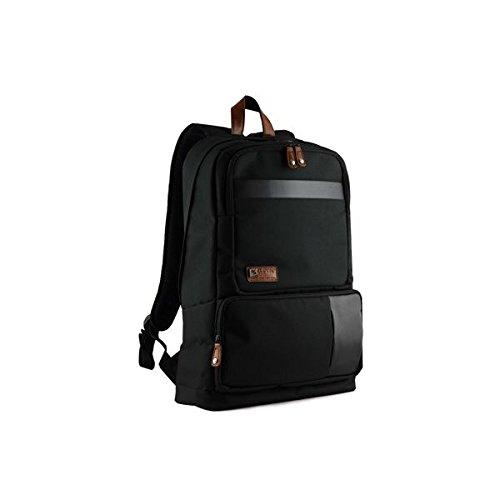 CLiPtec® Cosmo 43,2cm Notebook Rucksack cfp106–Schwarz