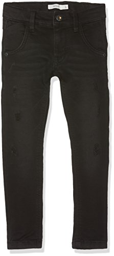 NAME IT Jungen Jeans Nitthorsen Slim/Xsl Dnm Pant Nmt Noos, Schwarz (Black Denim), 116