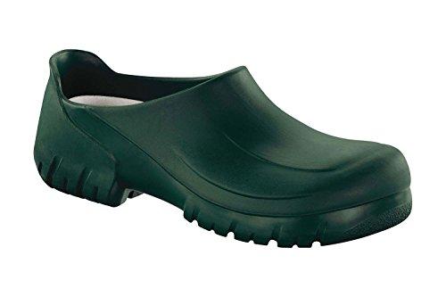 Birkenstock Professional Clog A640 mit Stahlkappe grün Gr