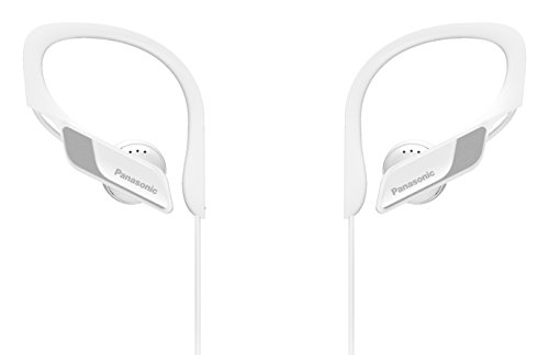 Panasonic Wings RP-BTS10-W - Auriculares Deportivos In-Ear con Bluetooth, Blanco