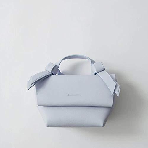 che Korea Candy Farbe Mode Mini Frauen Handtasche Paket Casual Gürtel Tragbare Messenger Umhängetaschen,Hellblau ()