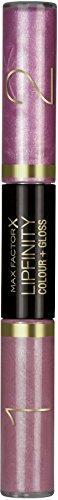 Max Factor Lipfinity Colour und Gloss Illuminating Fuchsia 520, Lipgloss mit 10h Halt, Intensives Rosa und multidimensionaler Gloss für ultimativ glänzende, verführerische Lippen - Verführerisch Natürliche Licht
