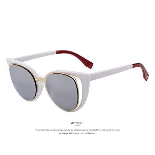 Sport-Sonnenbrillen, Vintage Sonnenbrillen, Fashion Cat Eye Sunglasses Women Designer Retro Pierced Female Sun Glasses Oculos De Sol Feminino UV400