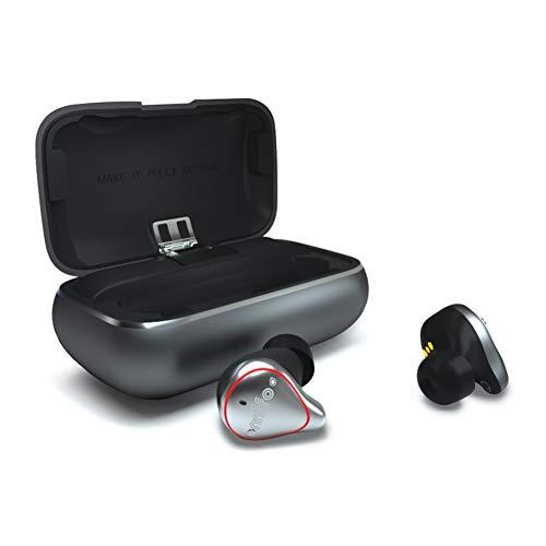 PNCS Auriculares Bluetooth Hombres y Mujeres inalámbricos binaurales Mini Orejas Invisibles Que Funcionan a Prueba de Agua, adecuados para Viajes al Aire Libre,Performance-Version