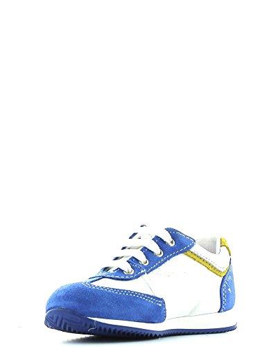 Melania , Chaussures de ville à lacets pour fille Bleu - Cobalto/Bianco