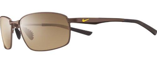 Nike Herren AVID SQ EV0589 203 57 Sonnenbrille, Braun (Walnut/Brown Lens),