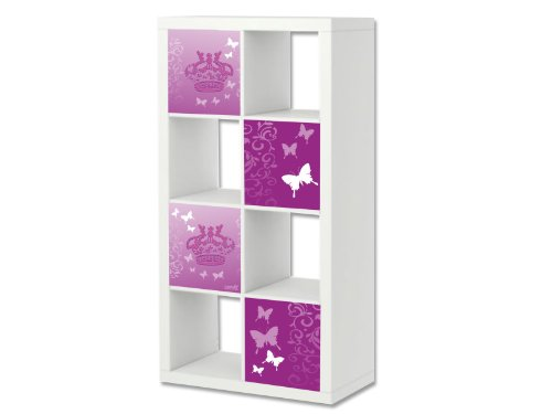Butterfly Möbelsticker / Aufkleber-Set passend für das Regal EXPEDIT / KALLAX von IKEA - ER01