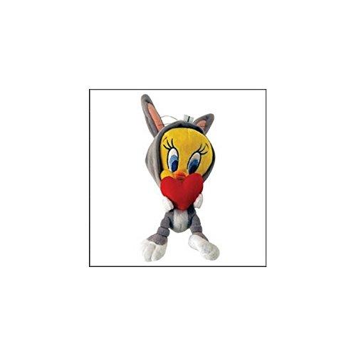 Piolín Peluche Piolín Disfrazado De Bugs Bunny 15 cm