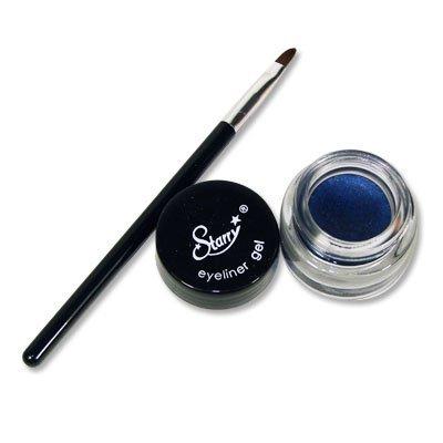 Starry, Inc Starry Long Lasting Waterproof Eyeliner Gel With Brush Midnight Sky Dark Navy Blue