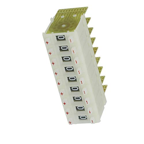 Aexit 10 Unids KM2 0-9 Interruptores Volante Codificados