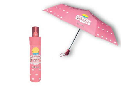 Paraguas plegable con frases