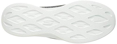 Lite Instructor Ladies nero Step Go Bianco Black Skechers agTOn