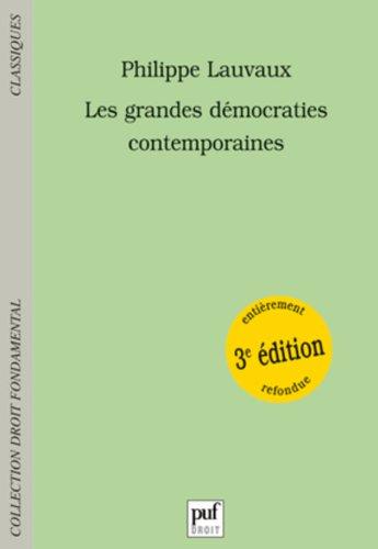Les Grandes Démocraties contemporaines
