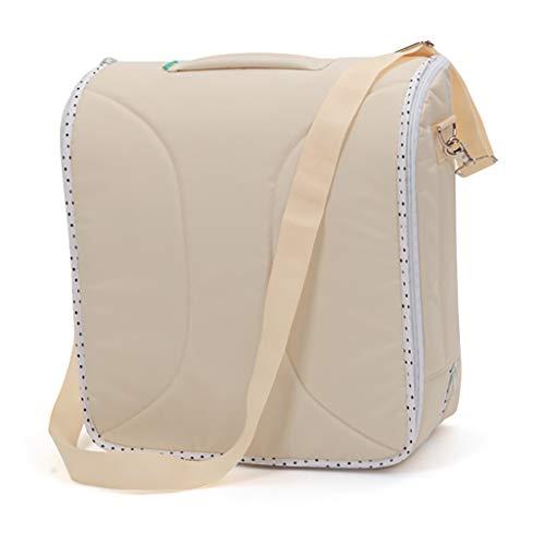 Portable Cribs Snow Yang Tragbare Krippen/Wickeltisch, 2 in 1 Mumienbeutelaufbewahrungsfunktion Neugeborenes Bett, geeignet für zusammenklappbares Reisebett - Reisebett Cover Mesh