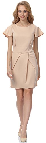 Merry Style Robe pour Femme MSSE0014 Beige