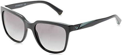 Emporio Armani Damen EA4070-551011-55 Sonnenbrille, Grey, 55