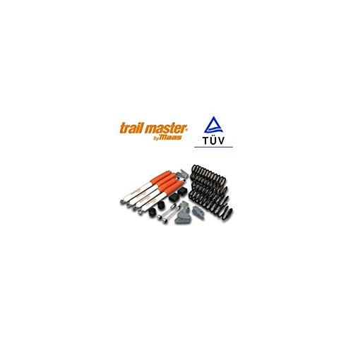- Aufhängungs-Kit Trail Master mehr 7,5cm für WRANGLER JK 3.8L ESS 2Türen nicht Rubicon für Jeep-S05319