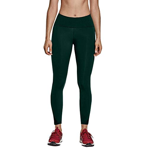 Leggings Sporthose Sport Leggings Tights High Waist Elastische Tummy Control Yogahose Mesh Patchwork Sweathose Freizeithose ()