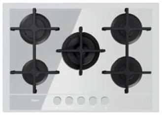 Whirlpool GOF 7523/WA Plaque – Plaque (intégré, gaz, verre, rotatif, Front, 230 V) Blanc