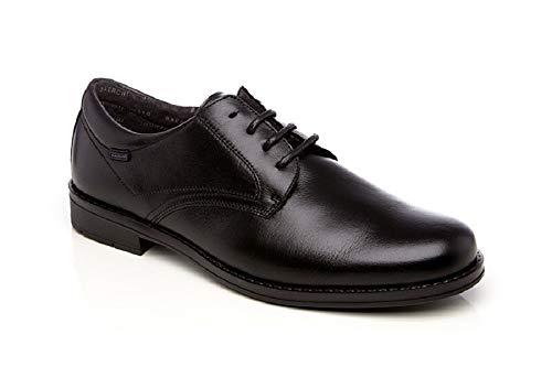 Baerchi 3620, Zapato Hombre Vestir cordón Negro 43