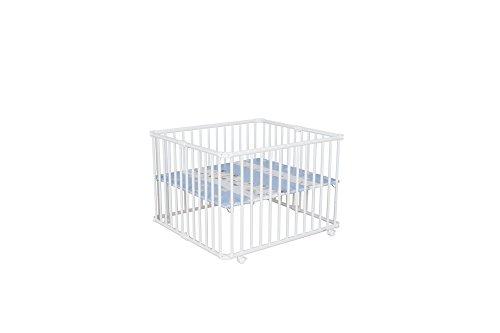 Geuther Kindermöbel 2263 WE 097 faltbares Laufgitter Lucilee groß, weiß, zebra