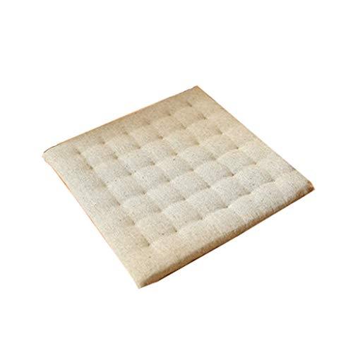 YJJSL Kissen Stuhl Sitzpolster-Rutschfeste Folk Benutzerdefinierte Dekompression Atmungsaktive Sitzkissen Dekoration Bürostuhl Pads (Farbe : B, größe : 40x40cm)