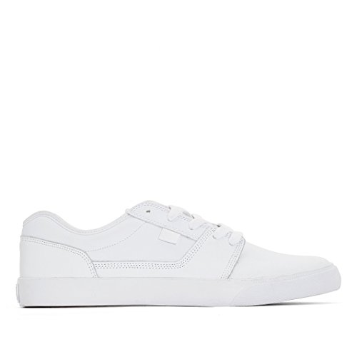 DC ShoesTonik - Scarpe da Ginnastica Basse Uomo , bianco (Blanc (Pristine/Angora)), 43 EU