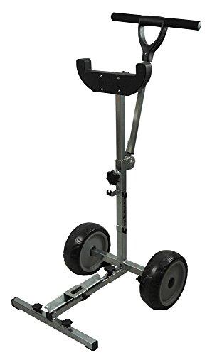 Prowake Trolley für Außenborder bis 15 PS Transportwagen Außenborder-Ständer Suzuki, Parsun, Yamaha, Mercury