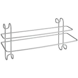 Metaltex Radius Double Towel Rail For Bathroom Heated Towel Radiator, Polytherm Coated
