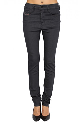 DIESEL - Jeans Donna STRECHIC 881A - Super Slim - Low Crotch - Stretch - grigio, W27 / L32