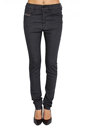 DIESEL - Jeans Donna STRECHIC 881A - Super Slim - Low Crotch - Stretch - grigio, W27 / L32