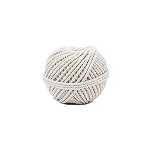 Flandria 284–Cordel de albañil en algodón Cable 100G diámetro 3mm, color blanco